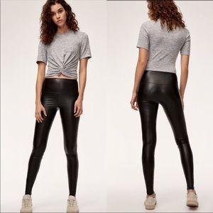 d490fc679ecc3d Aritzia Wilfred Free Daria Faux-Leather Legging